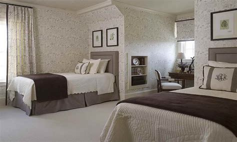 bedroom guest decorating ideas contemporary twin bed designs