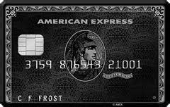 How to get amex black card. To get an American Express Black Card, what kind of credit score is required? - Quora