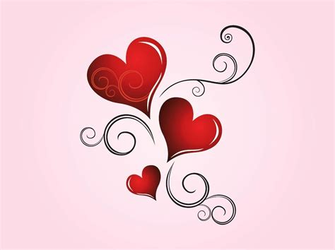 Download for free in png, svg, pdf formats 👆. Hearts Scrolls Vector Art & Graphics   freevector.com