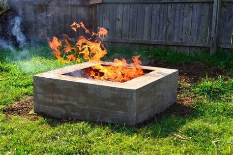 How To Make A Concrete Fire Pit Survivalist Com Self