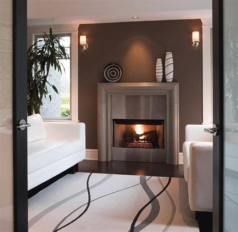 marble fireplace surround ideas modern appliance  home