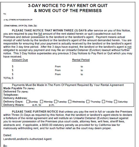 Three Day Eviction Notice Blank Template Mississippi by Pennsylvania 3 Day Notice Evictme Org