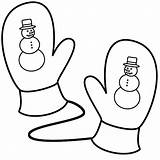 Coloring Mittens Mitten Christmas Pages Winter Snowman Clothing Printable Getcoloringpages Bigactivities Activity sketch template