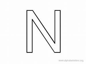 free letter n zebra print coloring pages With alphabet letter n