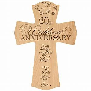 personalized 20th wedding anniversary 20th anniversary With gift for wedding anniversary