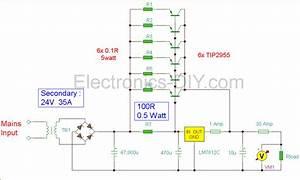 To Dc 12v 30a Power Supply Diagram