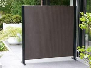 Blumenkübel Als Raumteiler : paravent visto l160x t32x h160cm aus polyrattan in mokka ~ Michelbontemps.com Haus und Dekorationen