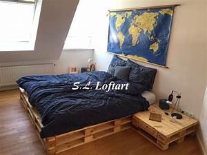 Was Ist Ein Futonbett : vintage betten palettenbett futonbett 39 town 39 140cm ein designerst ck von palettenm bel ~ Frokenaadalensverden.com Haus und Dekorationen