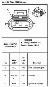 2001 Chevy S10 Mass Air Flow Wiring Diagram