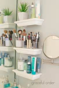 Bathroom Shelves Ideas 30 Best Bathroom Storage Ideas And Designs For 2017