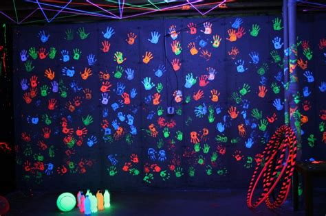 17 best images about blacklight crafts and activities on