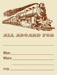 Printable Train Ticket Template Vastuuonminun