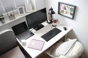 Schreibtisch Im Schlafzimmer : scandi schreibtisch selber bauen anleitung f r einen gem tlichen arbeitsplatz im schlafzimmer ~ Sanjose-hotels-ca.com Haus und Dekorationen