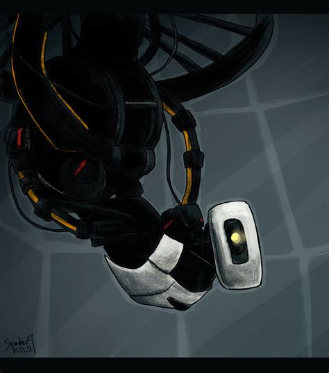 glados by spader7 on deviantart