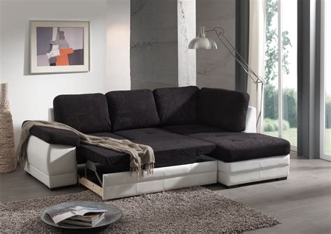 canape blanc canapé d 39 angle contemporain convertible en tissu coloris