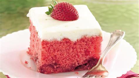 strawberry daiquiri cake recipe bettycrockercom