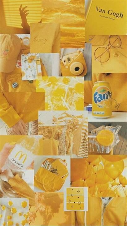 Aesthetic Yellow Pastel Wallpapers Fondos Amarillo Pantalla