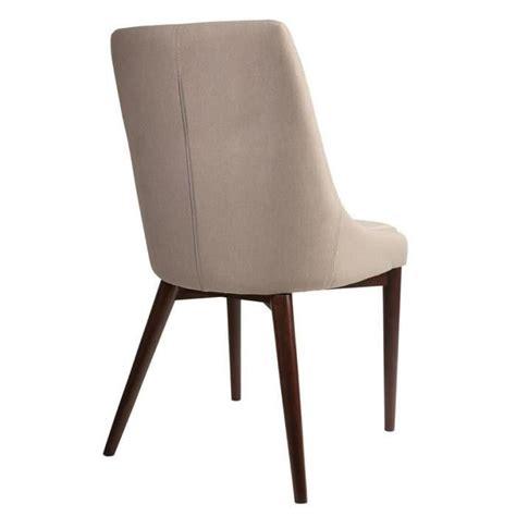 chaise tissu pas cher chaise juju de dutchbone tissu beige coutures sellier achat vente chaise salle a manger pas