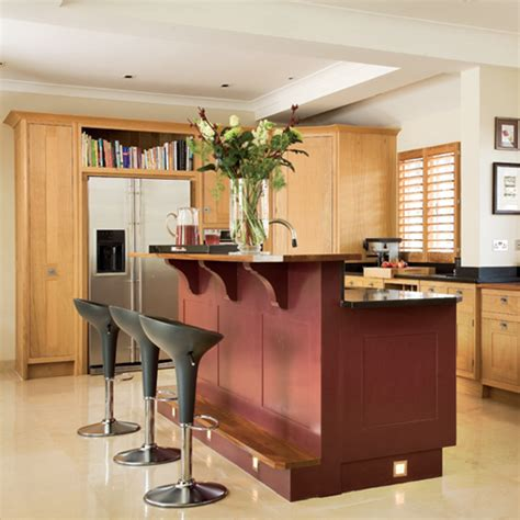 kitchen with bar design upgrade your kitchen to be a cool hang out spot with 6492