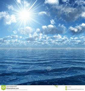 Sunshine Upon The Ocean Royalty Free Stock Photography ...
