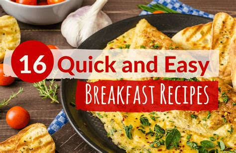 quick and healthy breakfast ideas sparkpeople