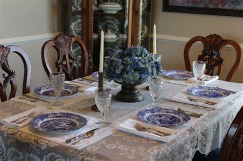 blue italian tablescape belle bleu interiors