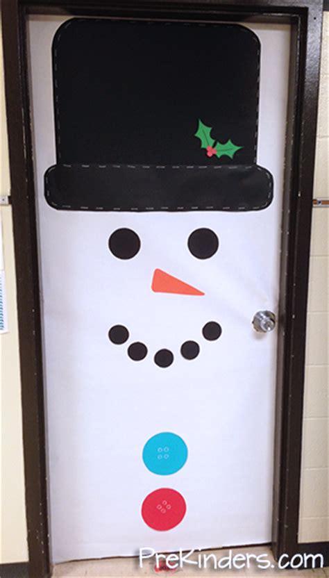 snowman door decorations diy door decoration for cathy