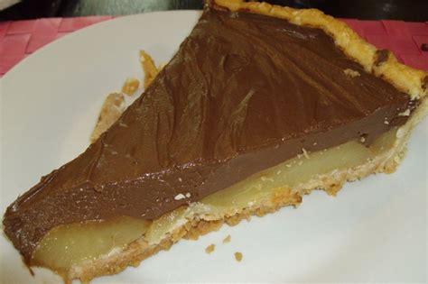 tarte poire chocolat pate feuilletee tarte au chocolat poire