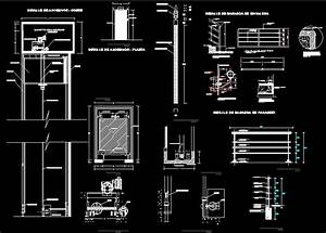 Detail Elevator DWG Section for AutoCAD • DesignsCAD