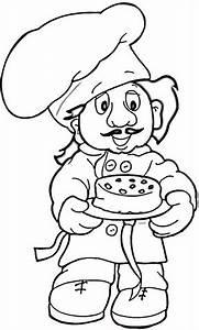 Ausmalbild: Bäcker Ausmalbilder kostenlos zum ausdrucken