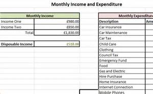 income and expense statement excel example income and expenditure form debt advice blog