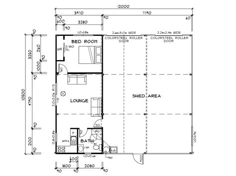 shed floor plans habitable sheds sheds you can live in from waikato shed