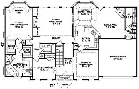 Hyatt Place Greek Revival Home Plan 087d-0998