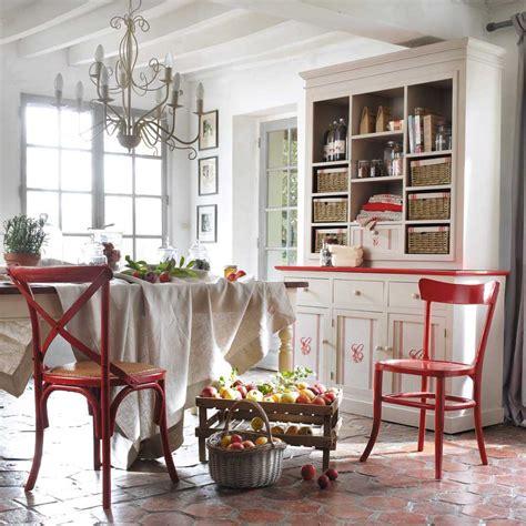 chaise bistrot maison du monde blanco roto shabby chic vintage maison du monde