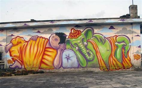 Grafiti Indah :  Graffiti Gangs Giving New Meaning To