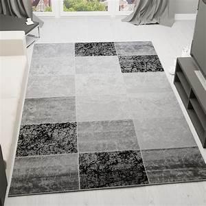 Teppich Schwarz Weiß : moderner designer heatset teppich marmor muster kariert ~ A.2002-acura-tl-radio.info Haus und Dekorationen