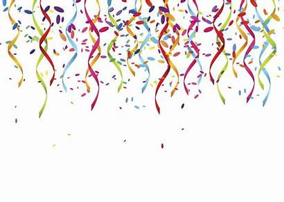 Transparent Celebration Streamers Clipart Clip Streamer Ribbons