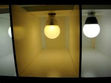 warm white cool white led bulbs  youtube