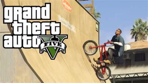 gta  super bike jump mod stunt montage youtube