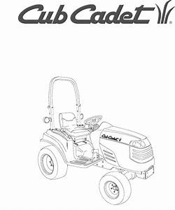 Cub Cadet Lawn Mower 7252 User Guide