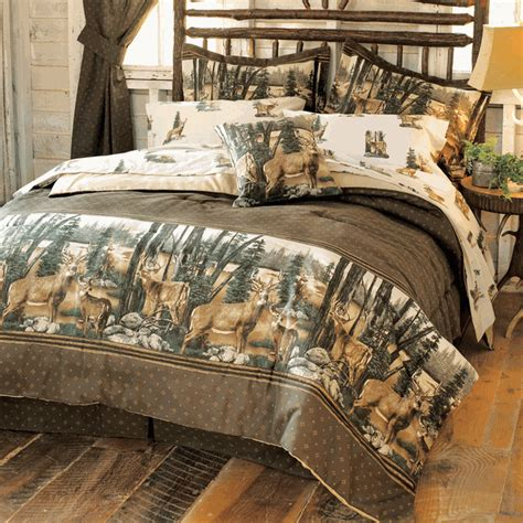 whitetail dreams sheet set queen