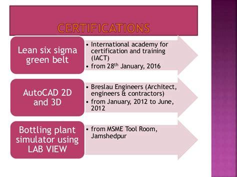 Lean Six Sigma Green Belt Resume by Resume