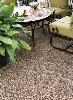 1000 ideas about patio flooring on painted