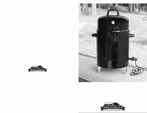 Masterbuilt Smoker Gmes User Guide