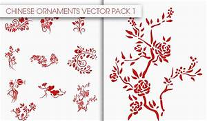 Chinese Ornaments Vector Pack 1 | Designious