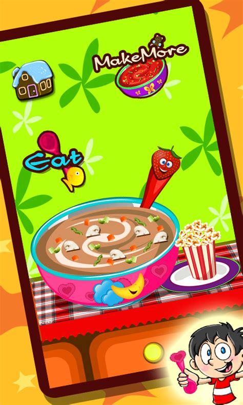 jeu fr de cuisine soupe maker jeu de cuisine amazon fr appstore pour android