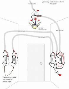 Wiring Diagram For 3 Way Switch Ceiling Fan  U2013 Powerking Co