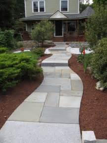 Curved Porch Roof by Walkway And Patio Design In Ma Natural Path Landscaping