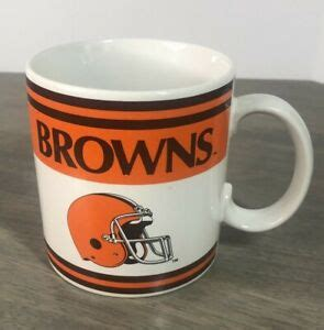 ✓ free for commercial use ✓ high quality images. Vintage Cleveland Browns Football Mug Cup by Russ Official ...