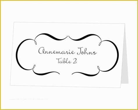 place card template    food place cards